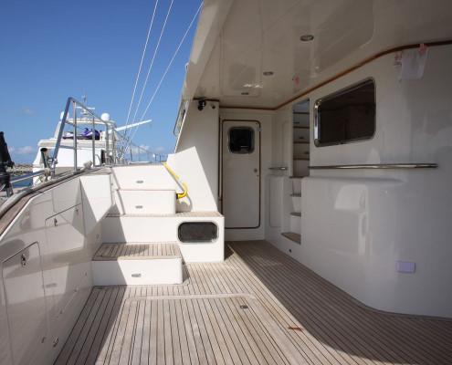 BC60-Sailing-Catamaran-spacious-side-deck-BC60